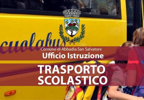 Orari definitivi Trasporto Scolastico A.S. 2021/2022